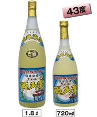琉球泡盛 久米仙 樽熟成古酒